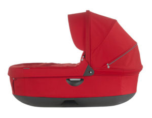 Stokke Stroller Carry Cot Red