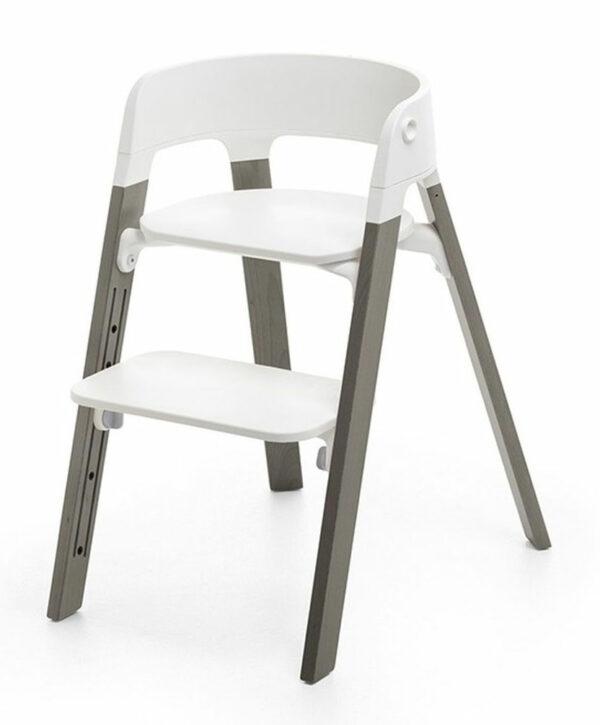 Stokke Steps High Chair Hazy Grey White